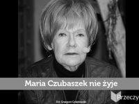 Maria Czubaszek nie żyje - Fot. Grzegorz Gołębiewski