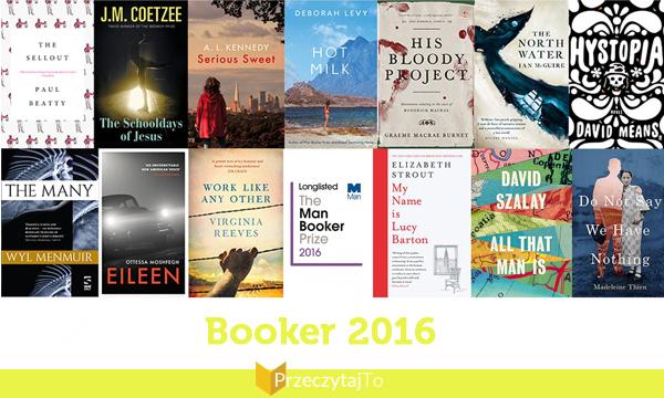Booker 2016 - nominacje