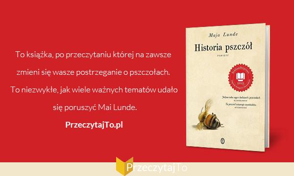 Historia pszczół - Maja Lunde